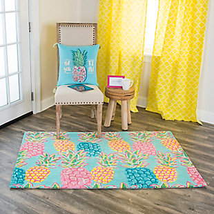 Simply Southern Pineapple 3 x 4 Rug, , rollover