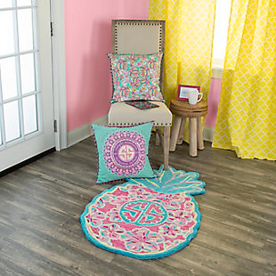 Simply Southern Pineapple 2 x 3 Accent Rug, , rollover