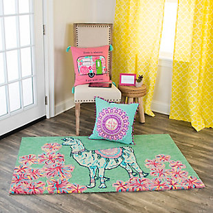 Simply Southern Unicorn 3 x 4 Rug, , rollover