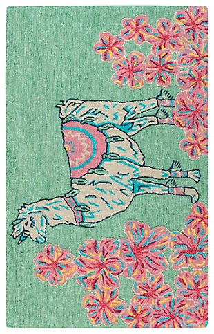 Simply Southern Unicorn 3 x 4 Rug, , large