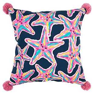 "Simply Southern 18""x18"" Poly Filled Star Fish Pillow, , large"