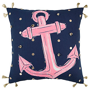 "Simply Southern 18""x18"" Poly Filled Anchor Pillow, , large"