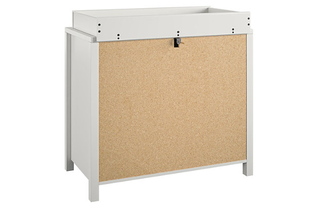 Little Seeds Monarch Hill Haven 3 Drawer White Changing Dresser, , large