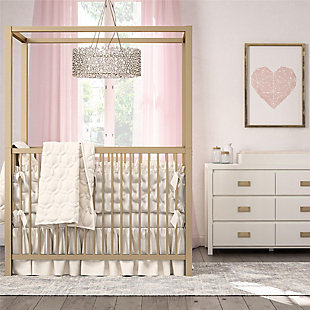 Little Seeds Monarch Hill Haven 6 Drawer White Changing Dresser, , rollover