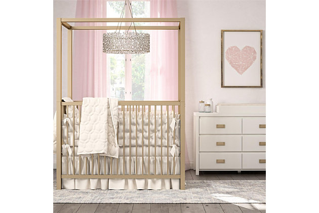 Little Seeds Monarch Hill Haven 6 Drawer White Changing Dresser, , large