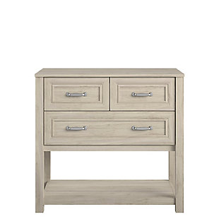 Little Seeds Sierra Ridge Levi Kids 3 Drawer Walnut Dresser, , large