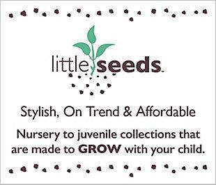 Little Seeds Nova Bedroom Storage Bench, Gray Oak, , large