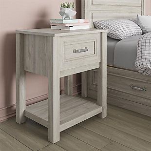 Little Seeds Sierra Ridge Levi Kids Nightstand, Walnut, , rollover