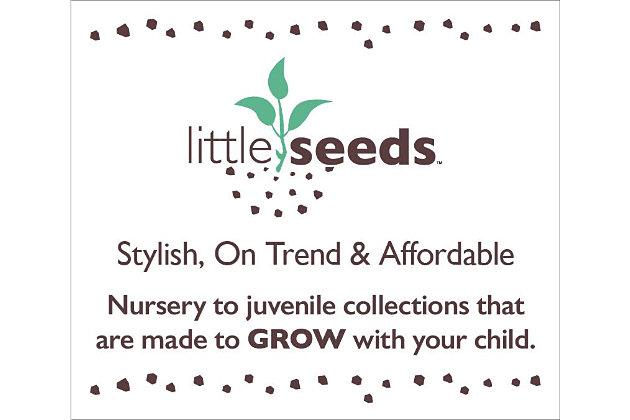Little Seeds Rowan Valley Arden 6 Drawer White Changing Dresser, , large