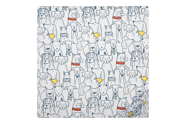 Sammy and Lou Transportation Pups 2 Pack Microfiber Fitted Crib Sheets, , large