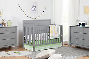 Carter's by Davinci Morgan 4-in-1 Convertible Crib in Gray, Gray, rollover