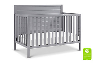 Carter's by Davinci Morgan 4-in-1 Convertible Crib in Gray, Gray, large