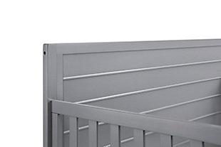 Carter's by Davinci Morgan 4-in-1 Convertible Crib in Gray, Gray, large