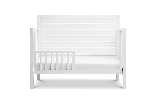Carter's by Davinci Morgan 4-in-1 Convertible Crib in White, White, large