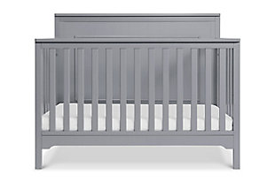 Carter's by Davinci Dakota 4-in-1 Convertible Crib in Gray, Gray, large