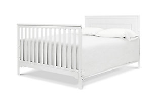 Carter's by Davinci Dakota 4-in-1 Convertible Crib in White, White, large