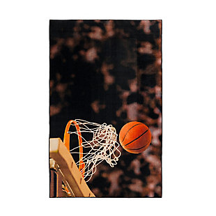 "Mohawk Prismatic Basketball Hoop Kids 3'4"" x 5' Area Rug, Multi, large"