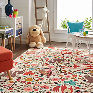 Mohawk Prismatic Enchanted Forest Kids 5' x 8' Area Rug, Multi, rollover
