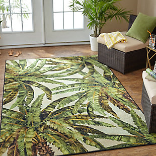 Mohawk Prismatic Verde Palm Green 5' x 8' Area Rug, Green, rollover