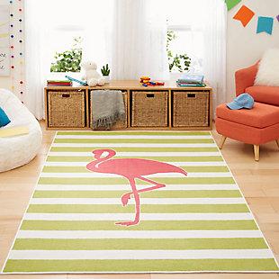 Mohawk Aurora Kids Fancy Flamingo Hot Pink 5' x 8' Area Rug, , rollover
