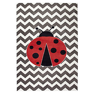 Mohawk Aurora Kids Little Lady Bug 5' x 8' Area Rug, , large