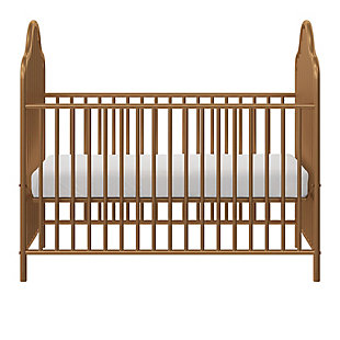 Little Seeds Little Seeds Rowan Valley Lanley Metal Crib and Changing Table Set, Gold, , large