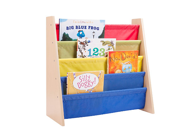 Honey-Can-Do Kids Book Rack, Primary, , large
