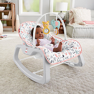 Fisher-Price Infant-to-Toddler Rocker, , rollover