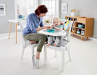 Fisher-Price Spacesaver High Chair, Windmill, , rollover
