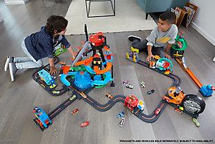 Mattel Hot Wheels Ultimate Gator Car Wash Playset, , large