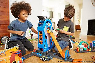 Mattel Hot Wheels Mega Garage Playset, , rollover