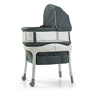 Graco Sense2Snooze Bassinet with Cry Detection Technology, Ellison, , large