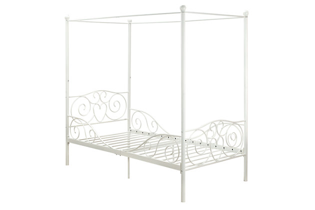 DHP Canopy Twin Bed, , large
