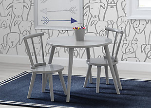 Delta Children Homestead 2pc Chair Set, Gray, , rollover
