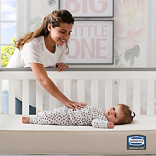 Delta Children Sleepy Nights Crib and Toddler Mattress, , rollover
