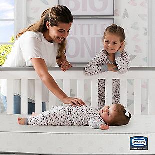Delta Children Foam Happy Nights Crib and Toddler Mattress, , rollover