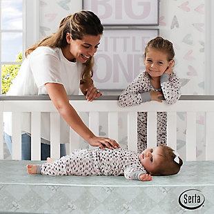 Delta Children Nightstar Supreme Crib and Toddler Mattress, , rollover