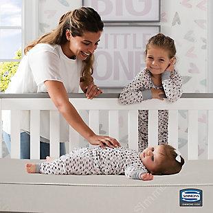 Delta Children Slumber Sky Crib and Toddler Mattress, , rollover