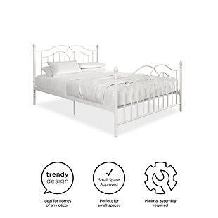 Atwater Living Selene Bed, White, Full, , large
