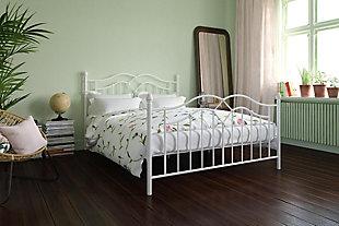 Atwater Living Selene Bed, White, Full, , rollover