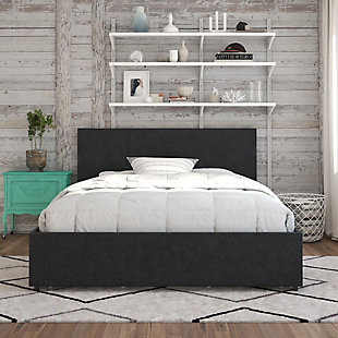 Kelly Queen Upholstered Bed with Storage, , rollover