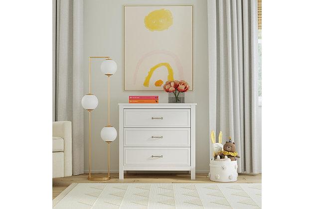 DaVinci Charlie 3-Drawer Dresser, , large