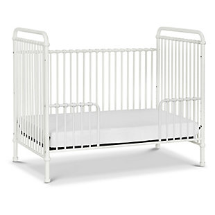 Million Dollar Baby Classic Abigail 3-in-1 Convertible Crib, Washed White, large