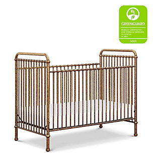 Million Dollar Baby Classic Abigail 3-in-1 Convertible Crib, Vintage Gold, rollover