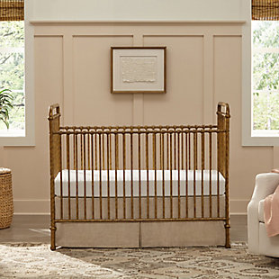 Million Dollar Baby Classic Abigail 3-in-1 Convertible Crib, Vintage Gold, large