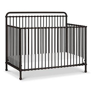 Million Dollar Baby Classic Winston 4-in-1 Convertible Crib, Vintage Iron, rollover