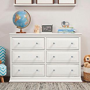 DaVinci Davinci Signature 6-Drawer Double Dresser, , rollover