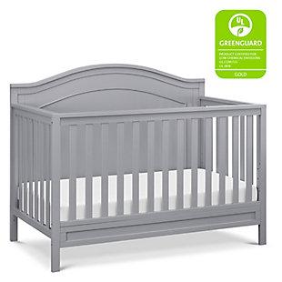 DaVinci Charlie 4-in-1 Convertible Crib, Gray, large