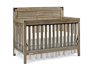 Fisher-Price Dorset 4-in-1 Convertible Crib, Rustic Gray, large