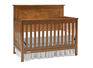 Fisher-Price Blaine  4-in-1 Convertible Crib, Brown, large